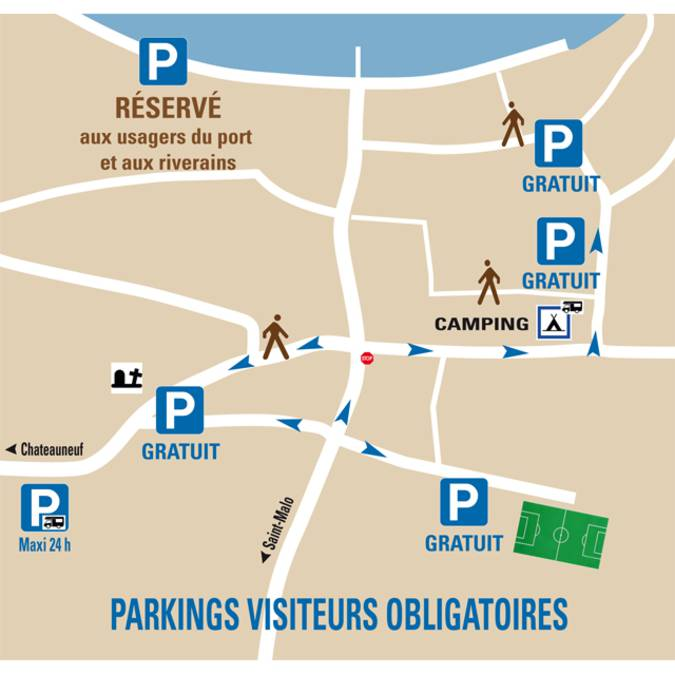 St-Suliac parking plan