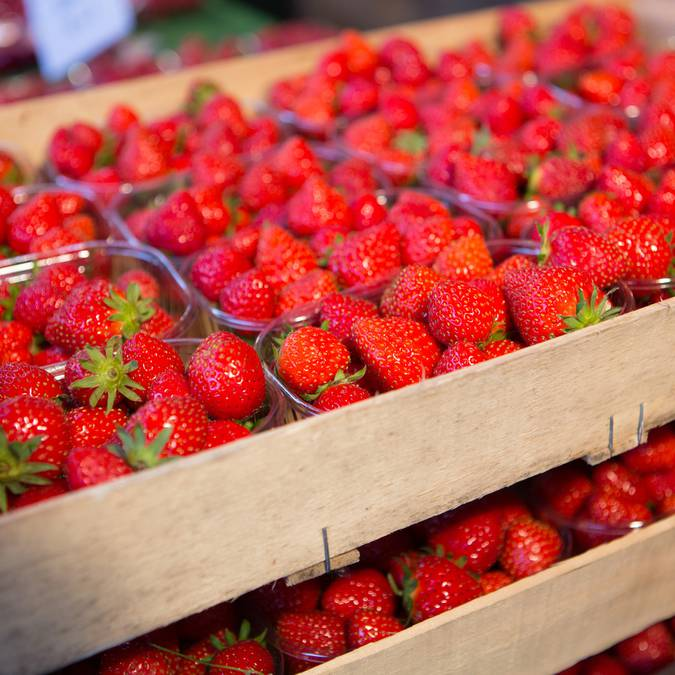 Strawberries from Saint-Méloir-des-Ondes